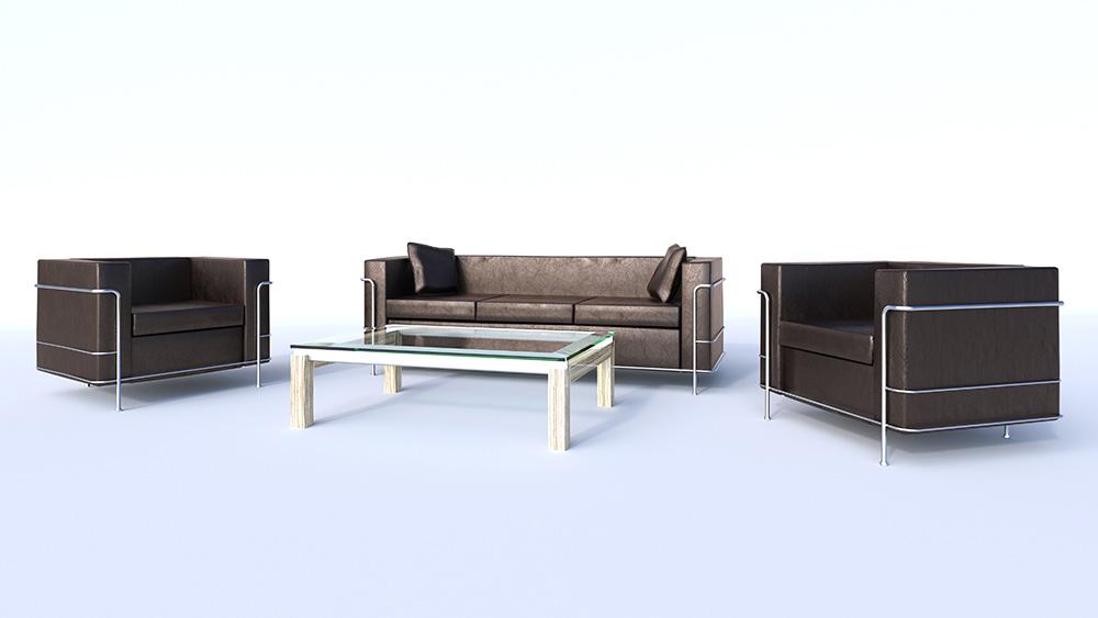 Möbel Rendering