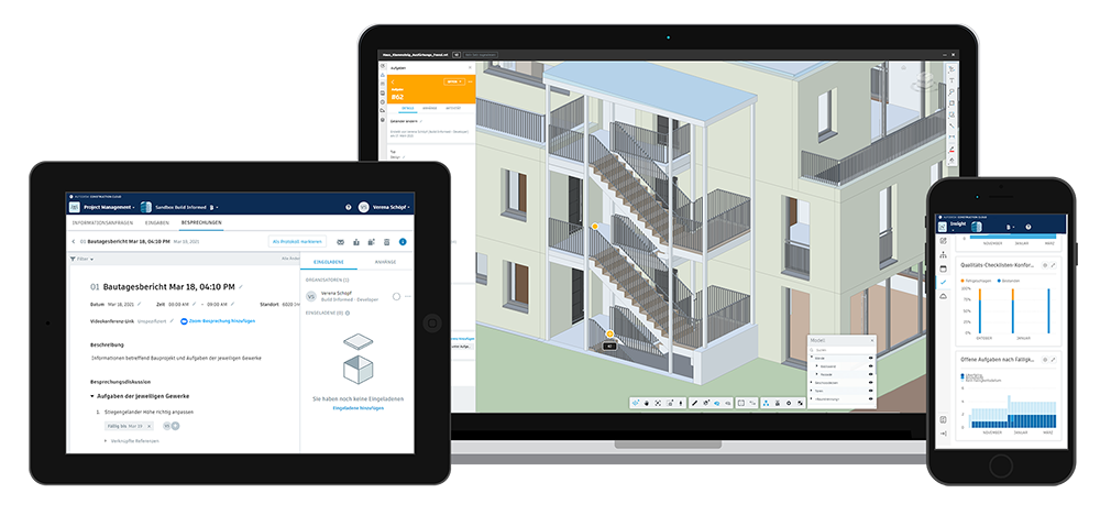 Digitales Baustellenmanagement